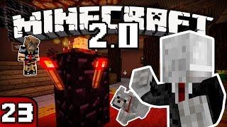 FRIGIEL & FLUFFY : LE SLENDERMAN | Minecraft - S4 Ep.23