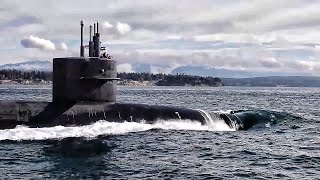 Trident Ballistic Missile Submarine Returns From Patrol