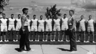 CBC Archives: RCMP in Training, 50s style, 1958