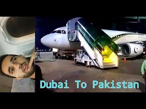 Pakistan Internationl Airline PIA Flight | Dubai to Pakistan Vlog #19