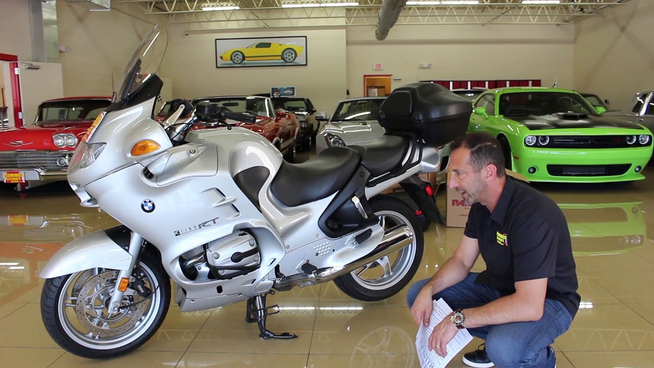 hight resolution of 2004 bmw r1150 rt for sale with test drive driving sounds and walk through video