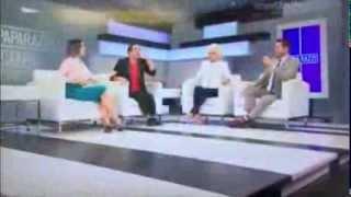 Suspenden a presentador de Mega TV por decir una grosería en el aire