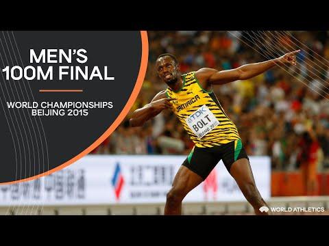 Men's 100m Final | World Athletics Championships Beijing 2015