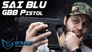 EMG SAI BLU GBB Pistol - Too Much or Too Little? - RedWolf Airsoft RWTV