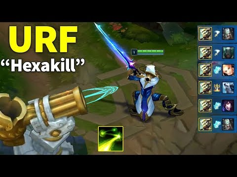 Best URF Moments April 2019 (Master Yi Hexakill, Lucian Pentakill...)