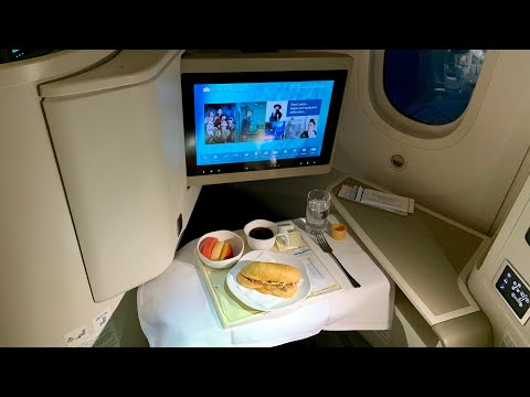 Vietnam Airlines BUSINESS CLASS Boeing 787-9 Hanoi - Can Tho (HAN-VCA)