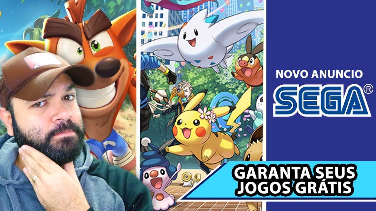 Muitos anúncios de Pokémon! ❘ Crash vindo para todos ❘ Jogos grátis e mais.. #GameReporter