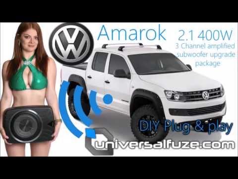 DIY Plug & play Subwoofer/amplifier upgrade to factory VW Amarok sound system