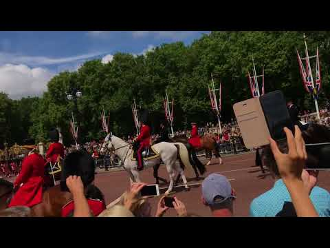 Trooping the Colour 2018 Colonel's Review
