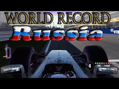 F1 2017: How I set WORLD RECORD in Russia + GOOD NEWS!