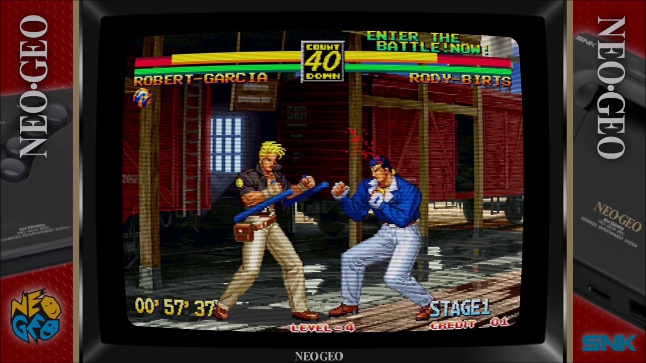 Retroarch - Neo Geo with Overlay & Border by Orions Angel
