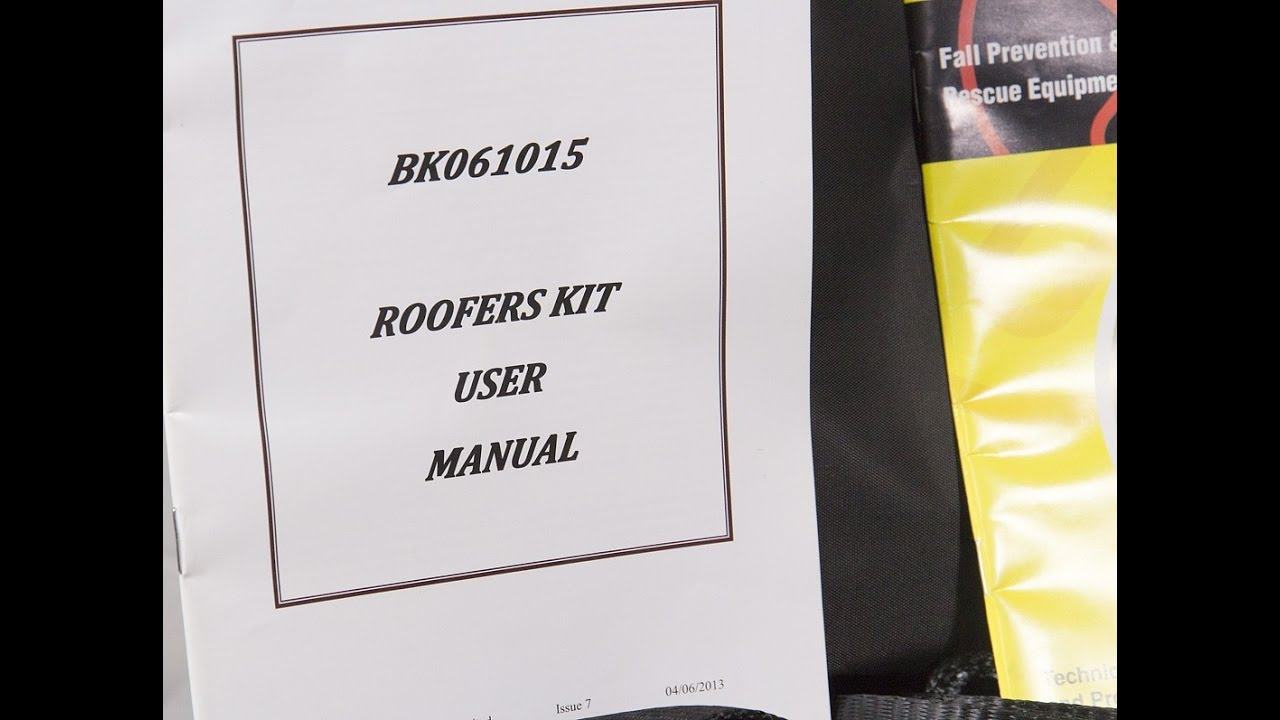 P77637 Beaver B Safe Roofers Safety Harness Kit In Contractors Bag Bk061015 Complete