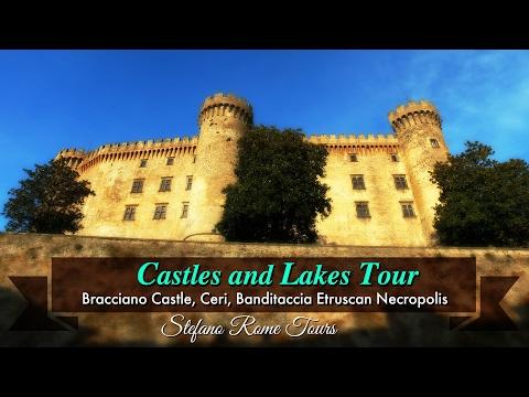 CASTLES AND LAKES TOUR: Bracciano Castle, Ceri, Cerveteri Etruscan Necropolis