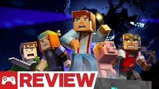 Minecraft: Story Mode Episode 1 - The Order of the Stone Review (Video Game Video Review)