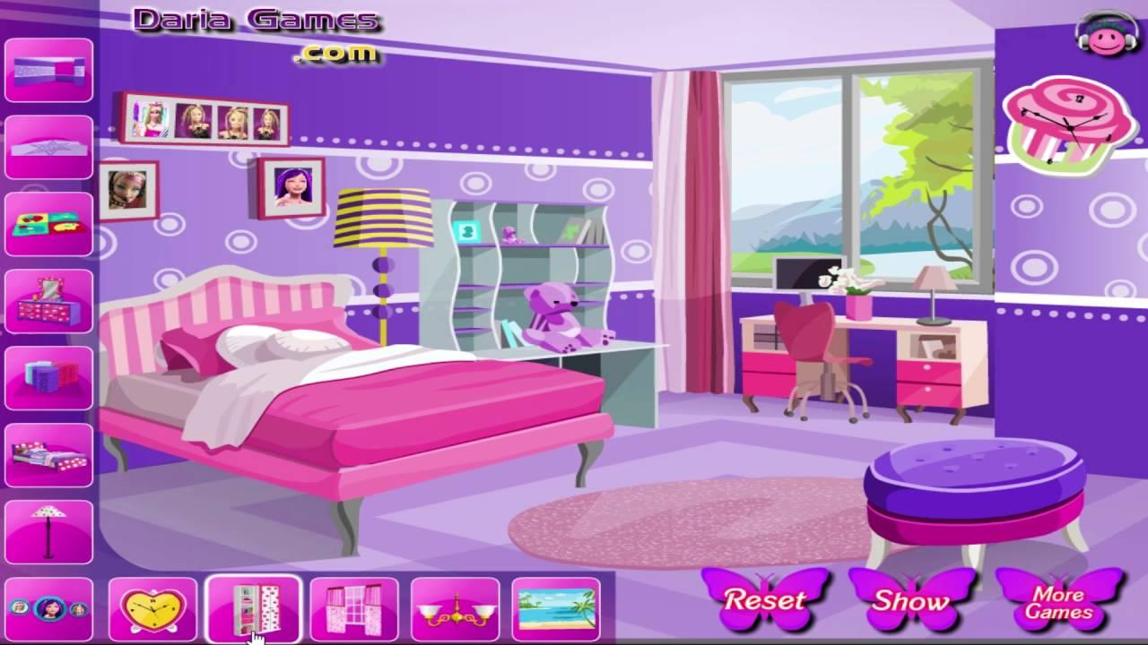 Decorate Room Games Barbie Decoratingspecial