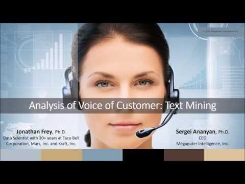 VoC Analysis through Text Mining