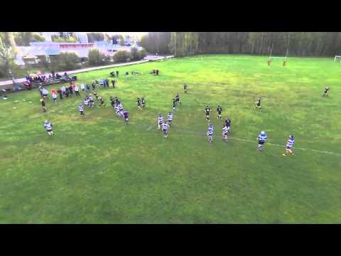 Drone rugby: Helsinki vs Turku Eagles