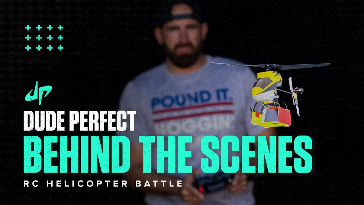 RC Helicopter Battle (Behind The Scenes)