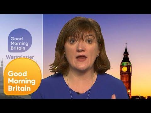 Tory Nicky Morgan Challenged Over '50,000 New Nurses' Pledge   Good Morning Britain