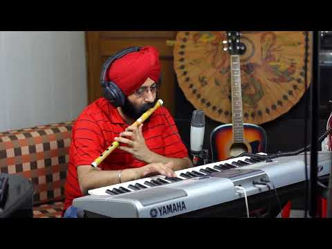 Panchi banu udti phiru on flute and Piano in my Personal Studio