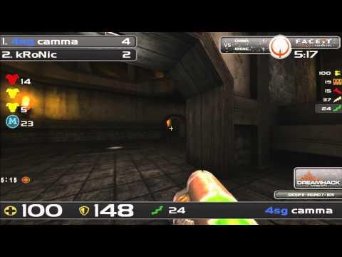 DHW2013 - Quake Live (GROUP B - R7) - kRonic vs camma
