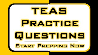 TEAS Practice Questions - Free TEAS Math Tips!