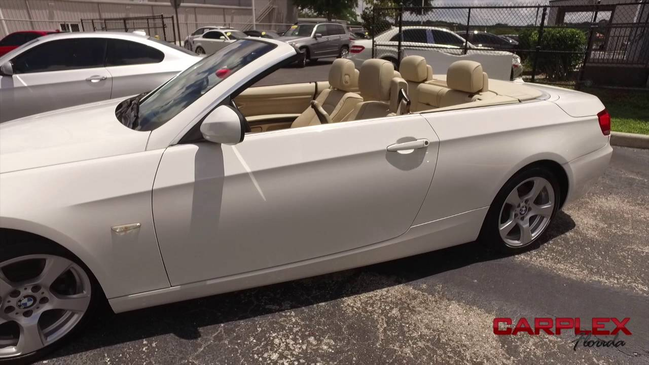 2010 Bmw 3 Series 328i Convertible Carplex 8 1