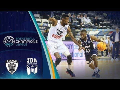 Paok V Jda Dijon – Highlights – Basketball Champions League 2019-20
