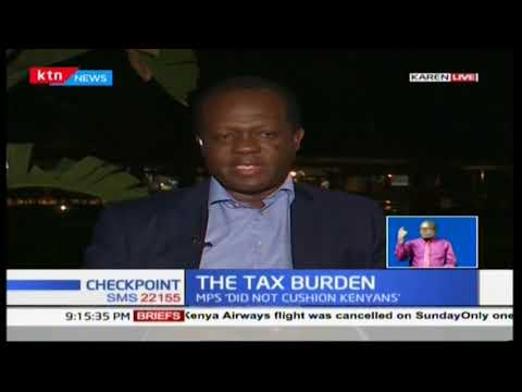 TUJU: Taxation is going to be there, whether Kenya has debts or not   #Checkpoint
