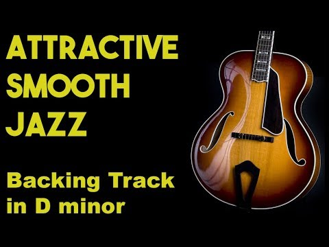 Attractive Smooth Jazz Backing Track in Dm SZBT 11