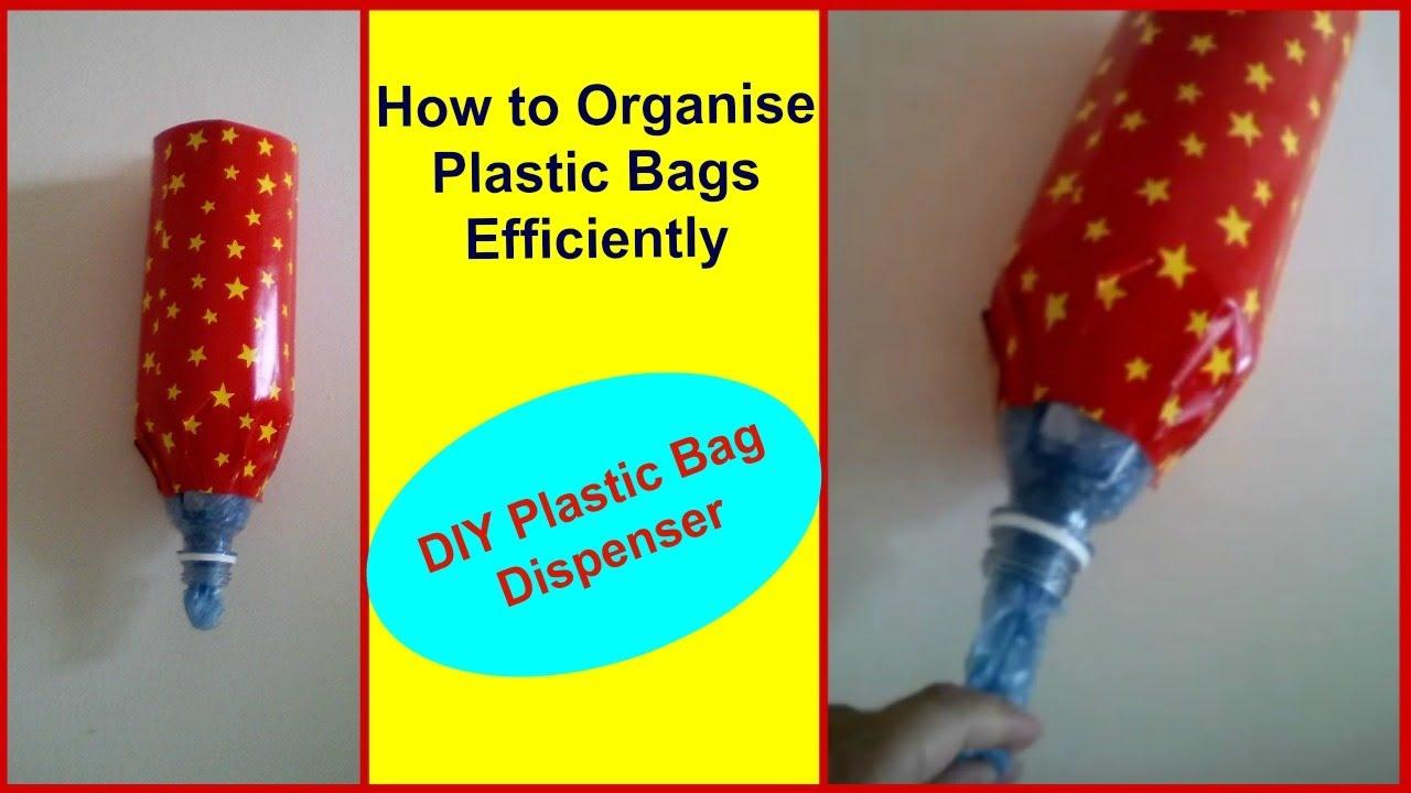 Diy Plastic Bag Dispenser How To Organize Sheetaljoshi