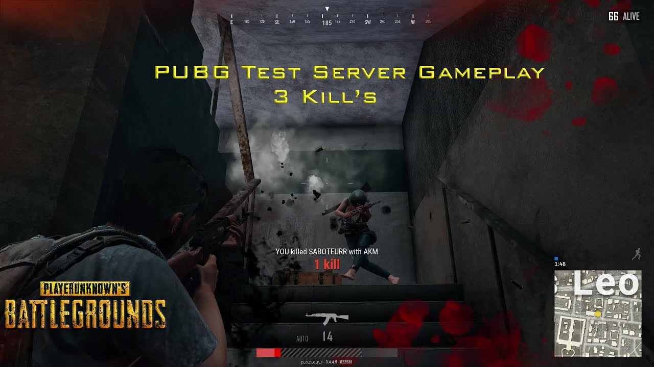 PUBG Test Server Gameplay - YouTube