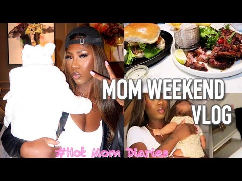 Download HOT MOM DIARIES: MUM AND SON TAKE THE WEEKEND + DINING OUT + BEING A MOM VLOG