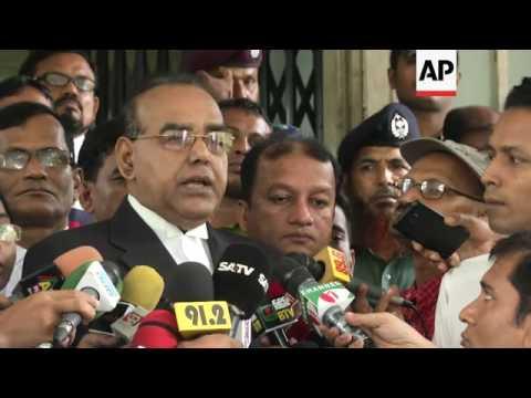 Death sentence for former Bangladesh lawmaker