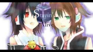 【UTAU】 Stayin' Alive 【弾み音デイヤ・KAMIREI】 +UST