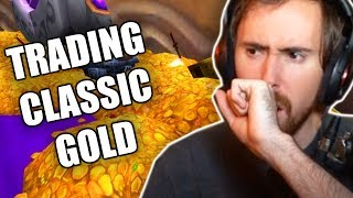 Asmongoldand39s Thoughts On Trading Retail Wow Gold For Classic Wow Gold