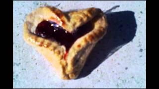 Heart Shaped Hamantaschen.