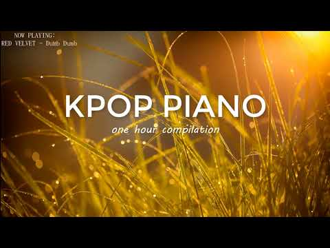 1 Hour Relaxing Kpop Piano for Sleeping and Studying(BTS,SEVENTEEN,WINNER,EXO,iKON,K.A.R.D,VIXX...)