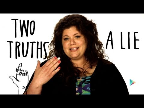Rainbow Rowell: Two Truths + A Lie
