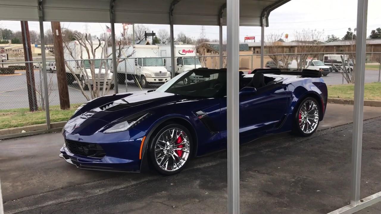 2017 Corvette Z06 Z07 Performance Package YouTube