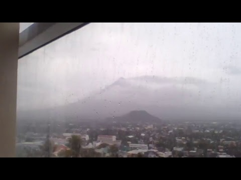 Live Streaming of MAYON VOLCANO, taken from The Oriental Hotel Legazpi