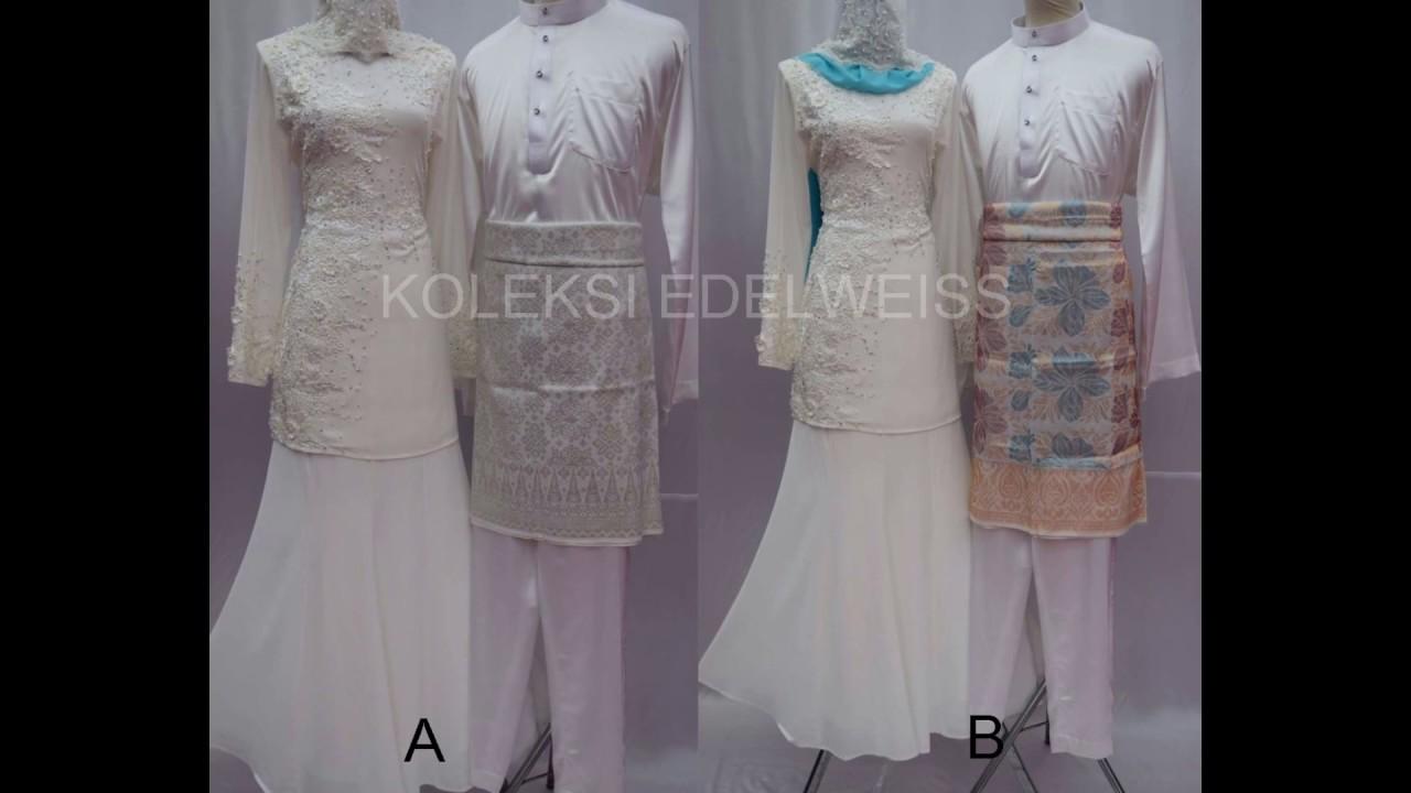 Baju Nikah Putih Simple