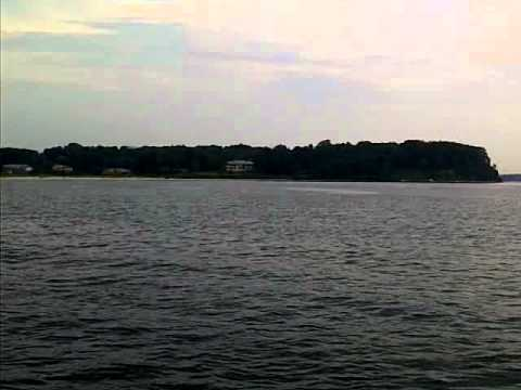 Blue fish bunker long island sound july youtube for Long island sound fishing report