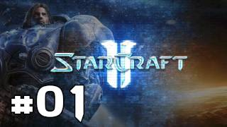 ★ StarCraft II: Wings of Liberty - Walkthrough Part 1 [HD][PC]