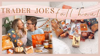 TRADER JOE'S FALL HAUL | taste test + everything pumpkin 2020! 🎃✨