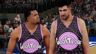 NBA 2K16 Goof Troop #4 - Signed Sim Bhullar
