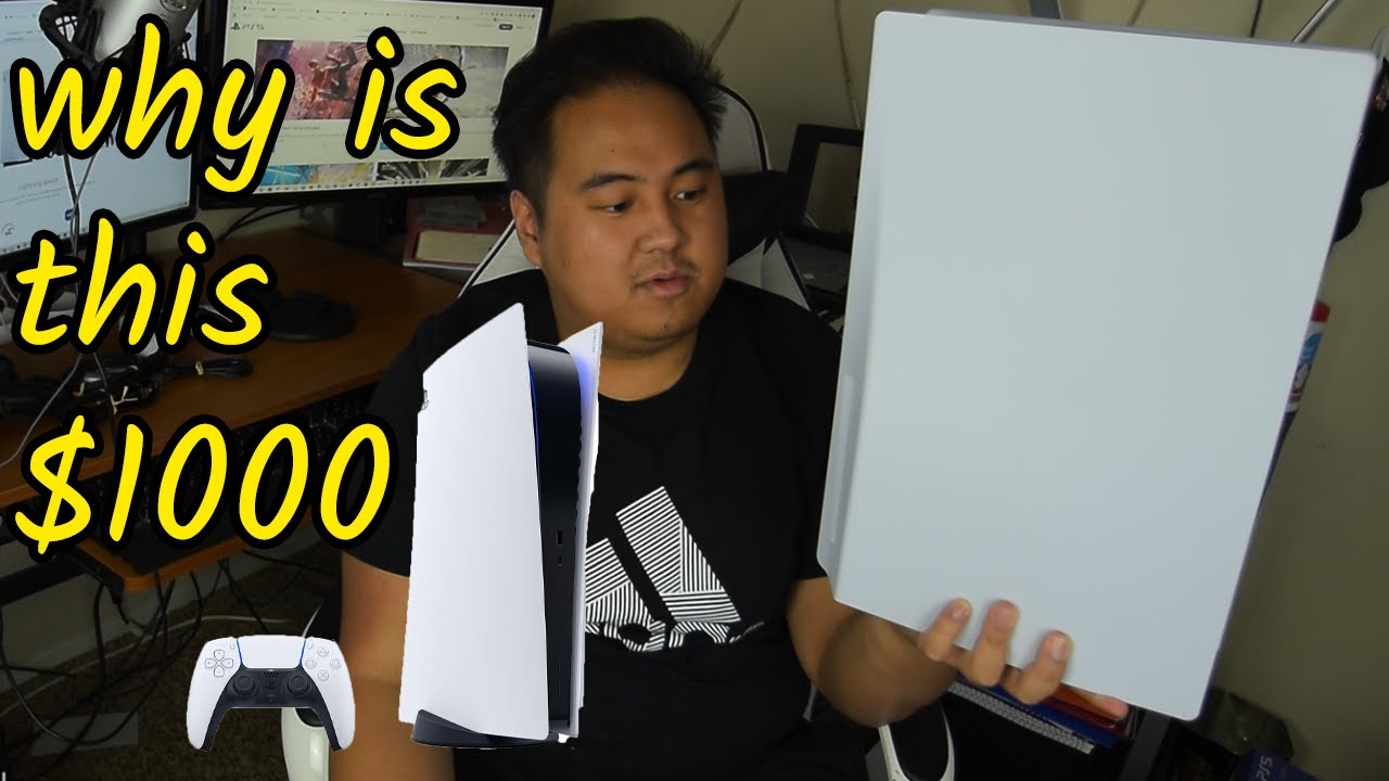 Getting the Playstation 5 on Launch Day (PS5 Unboxing/Overview)
