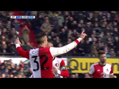 Feyenoord - Heracles Almelo / 1-0 Robin van Persie