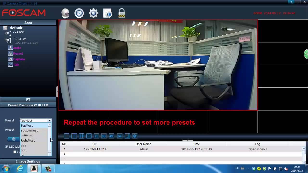 Foscam Client Software Video Tutorial How To Setup
