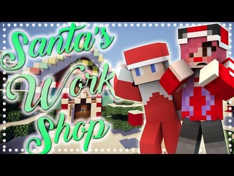Minecraft Roleplay | Santa's Workshop: THE NORTH POLE! [2] | Mousie